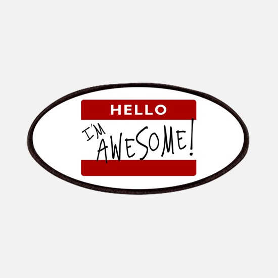 Hello - I'm Awesome! Patches