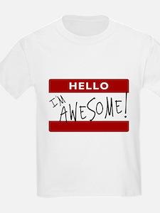 Hello - I'm Awesome! T-Shirt