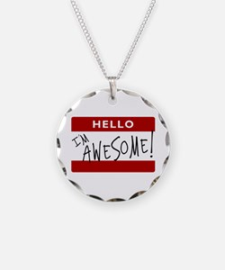 Hello - I'm Awesome! Necklace