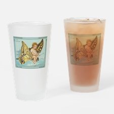Victorian Butterfly Fairy Drinking Glass