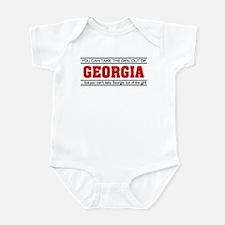 'Girl From Georgia' Infant Bodysuit