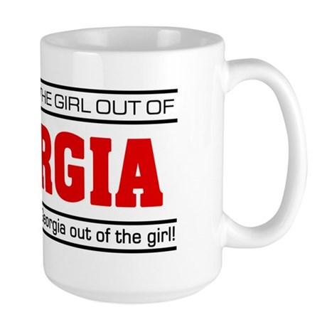 'Girl From Georgia' Large Mug