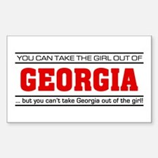 'Girl From Georgia' Decal