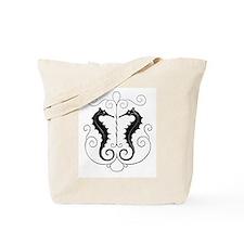 Seahorse Twins Tote Bag