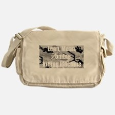 Zombie Killing Machine Messenger Bag