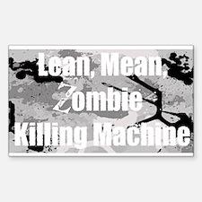 Zombie Killing Machine Decal