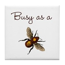 Busy Bee Tile Coaster