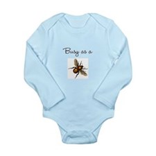Busy Bee Long Sleeve Infant Bodysuit