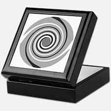 Spiral Pattern Keepsake Box