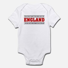'Girl From England' Infant Bodysuit