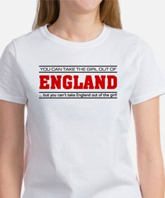 'Girl From England' Women's T-Shirt