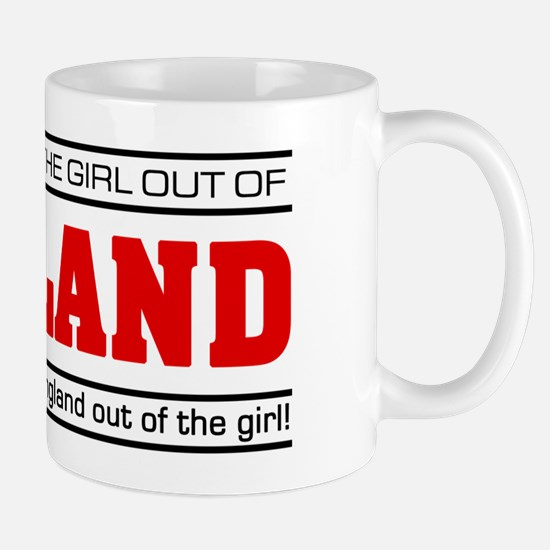 'Girl From England' Mug