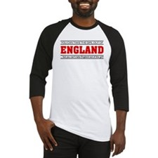 'Girl From England' Baseball Jersey
