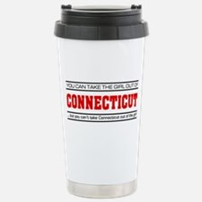 'Girl From Connecticut' Travel Mug