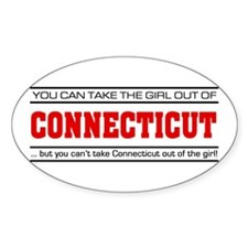 'Girl From Connecticut' Decal