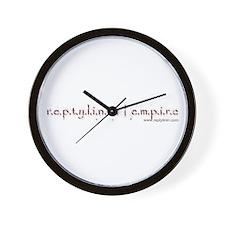 Unique Disclaimer Wall Clock