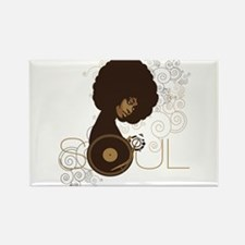 Soul III Rectangle Magnet