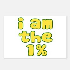 I Am the 1% Postcards (Package of 8)