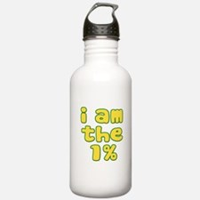I Am the 1% Water Bottle