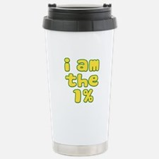 I Am the 1% Stainless Steel Travel Mug