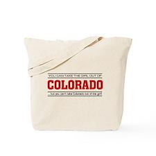 'Girl From Colorado' Tote Bag