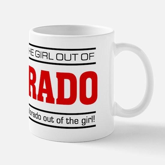 'Girl From Colorado' Mug
