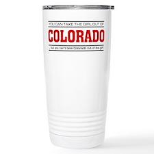 'Girl From Colorado' Travel Mug