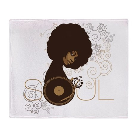 Soul III Throw Blanket