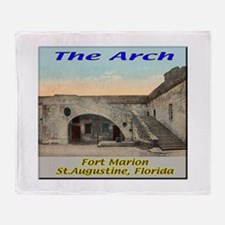 Fort Marion Arch Throw Blanket