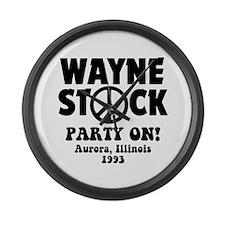 Wayne Stock Large Wall Clock