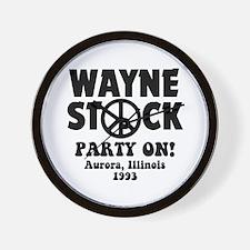 Wayne Stock Wall Clock