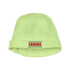 'Girl From Canada' baby hat