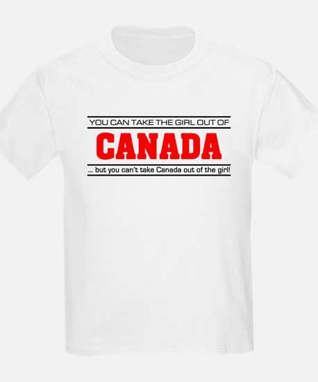 'Girl From Canada' T-Shirt