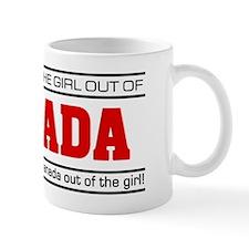 'Girl From Canada' Mug