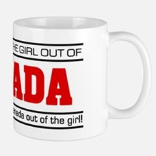 'Girl From Canada' Small Mugs