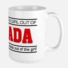 'Girl From Canada' Ceramic Mugs