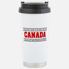 'Girl From Canada' Travel Mug