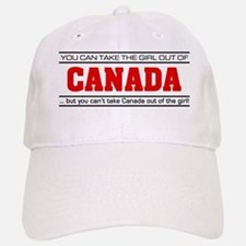 'Girl From Canada' Baseball Baseball Cap