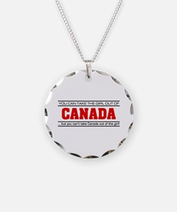 'Girl From Canada' Necklace