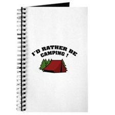 I'd rather be camping! Journal