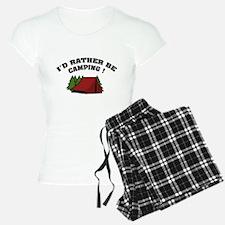 I'd rather be camping! Pajamas