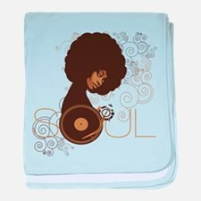 Soul III baby blanket