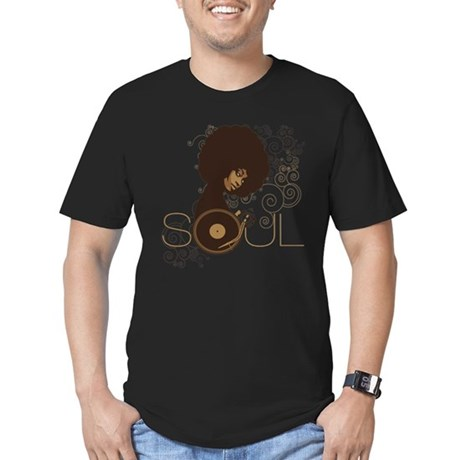 Soul III Men's Fitted T-Shirt (dark)