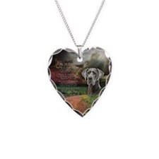 """Why God Made Dogs"" Great Dane Necklace Heart Char"