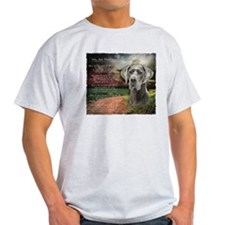 """""""Why God Made Dogs"""" Great Dane T-Shirt"""