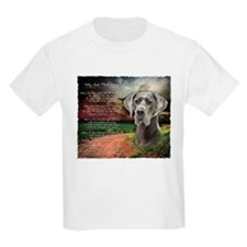"""Why God Made Dogs"" Great Dane T-Shirt"