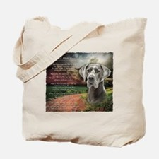 """""""Why God Made Dogs"""" Great Dane Tote Bag"""