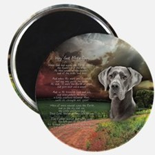 """""""Why God Made Dogs"""" Great Dane Magnet"""