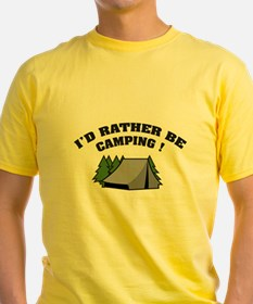 I'd rather be camping! T