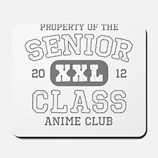 Senior 2012 Anime Club Mousepad
